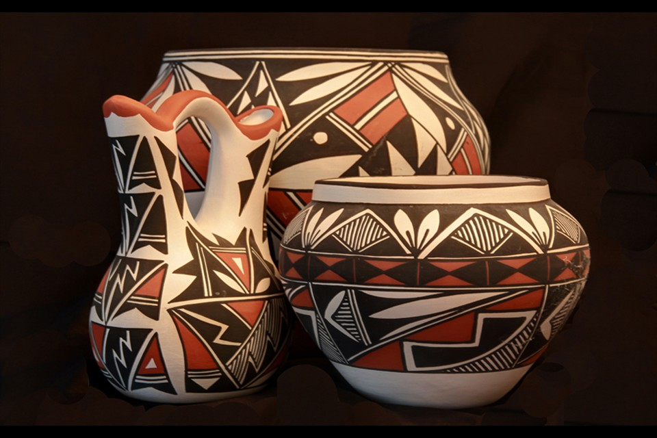 Pottery of the Acoma Pueblo by Donald Freeman