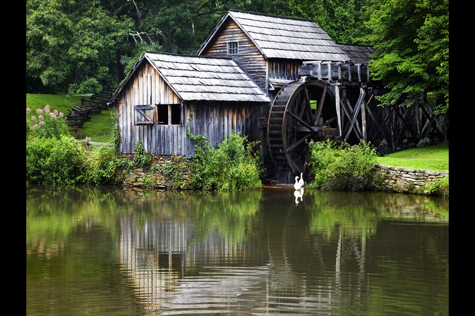 Mabry Mill - Blue Ridge Mountains by Martin Kivell