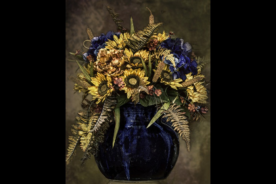 Sunflower Bouquet by Eleanor Bortnick