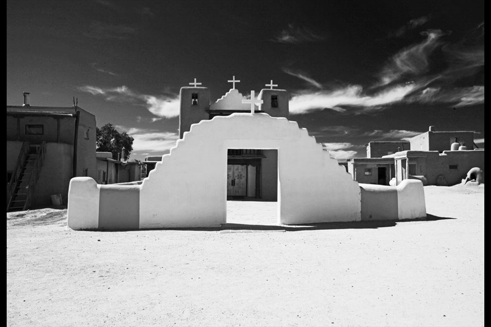 San Geronimo Church, Taos Pueblo, N.M. by Donald Freeman