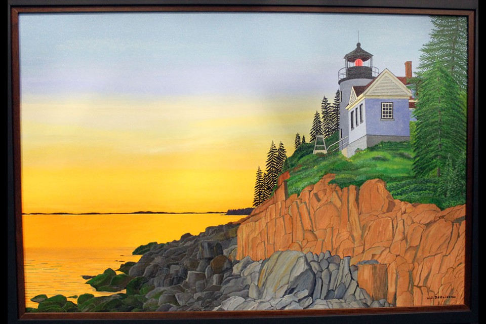 Bass Harbor Head Light by William Darlington