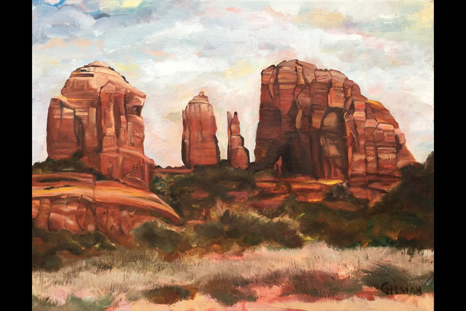 Cathedral Rock by Emily Beezley