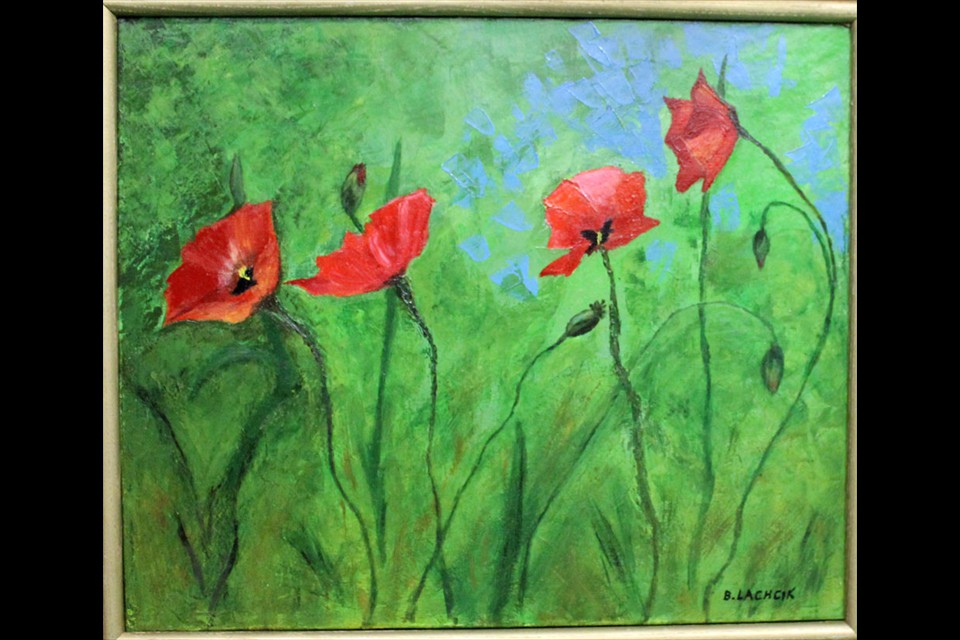 Poppies by Barbara Lachcik