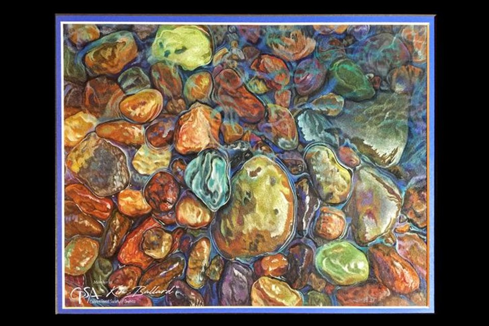 River Rocks by Kim Ballard
