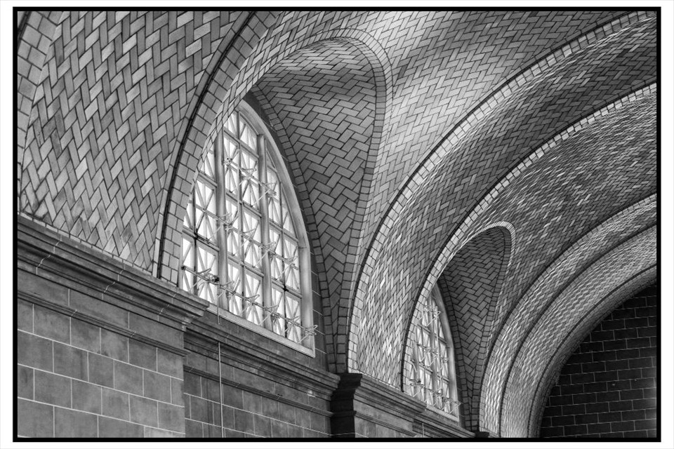 Great Hall: Ellis Island by Keli Dougherty