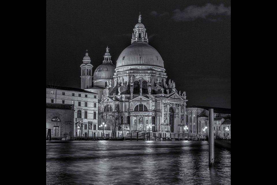 Santa Maria della Salute by William Olson