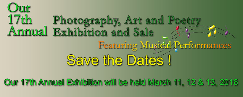 17th Annual Exhibition Dates